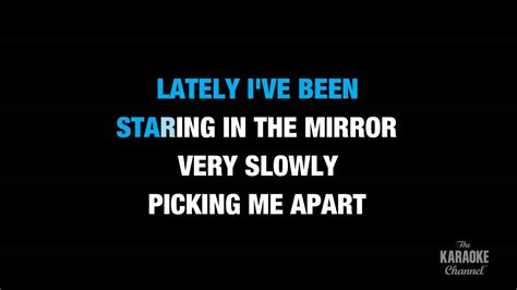 """Lately in the Style of """"Stevie Wonder"""" karaoke video with"""