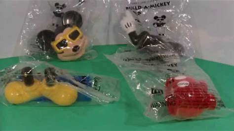 MICKEY MOUSE LIMITED EDITION TOY REVIEW MCDONALDS HAPPY
