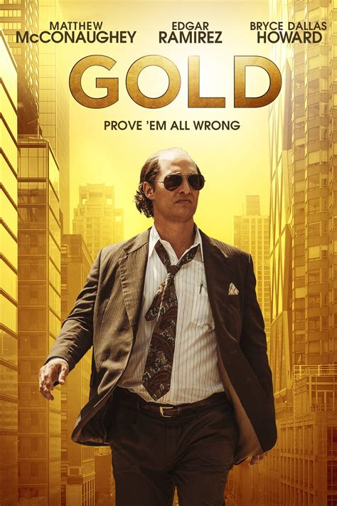 Gold (2016) - Posters — The Movie Database (TMDb)