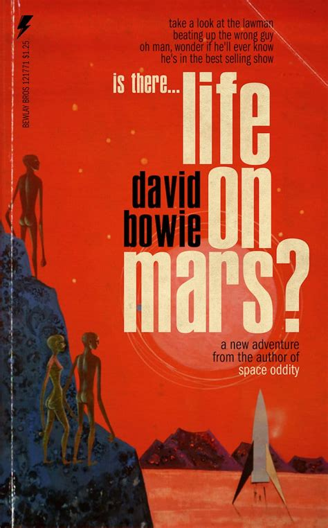 David Bowie Songs Reimagined as Pulp Fiction Book Covers