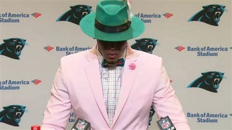 Cam Newton Once Again Wore A Crazy Outfit On Game Day