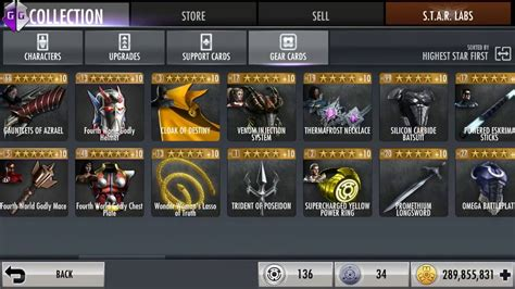 INJUSTICE GODS AMONG US GEAR ULTIMATE HACK!!! LEVEL IT TO
