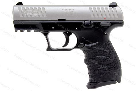 Walther CCP Semi Auto Pistol, 9mm, SoftCoil Gas-Delayed