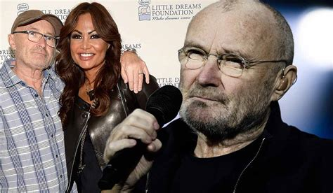 Phil Collins Heartbroken After Wife Dumps Him By Text