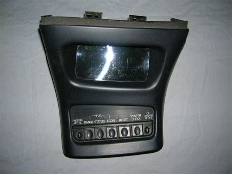Buy 95 96 97 98 99 00 01 FORD EXPLORER CENTER CONSOLE INFO
