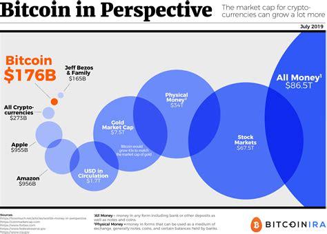 [Infographic] Bitcoin and Cryptocurrency in Perspective