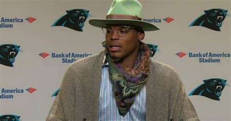 Cam Newton wears an outrageous postgame outfit a week