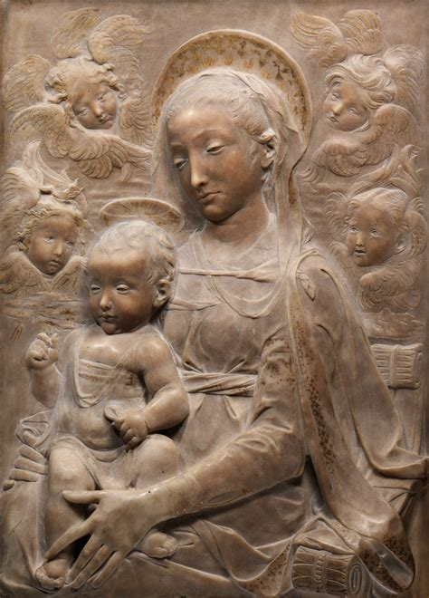 Madonna and Child with Angels | Antonio Rossellino | 14