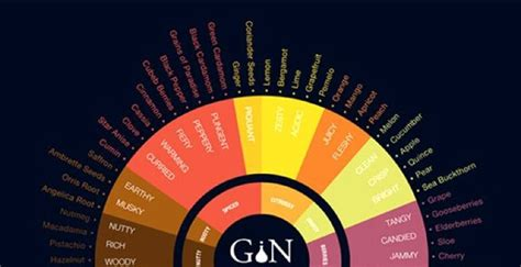Oooh! There's a gin tasting chart so you can make the most