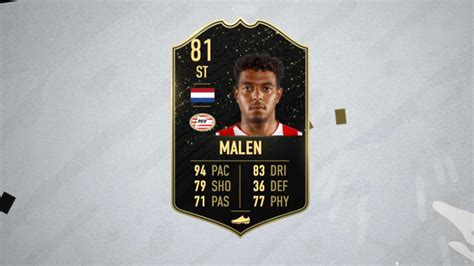 81 IF Donyell Malen FIFA 20 Player Review - Futhead News