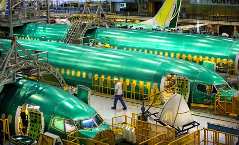 Boeing retools Renton plant with automation for 737's big
