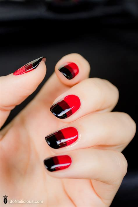 Red Nails - Day 9 - 28 days of SoNailicious Nails