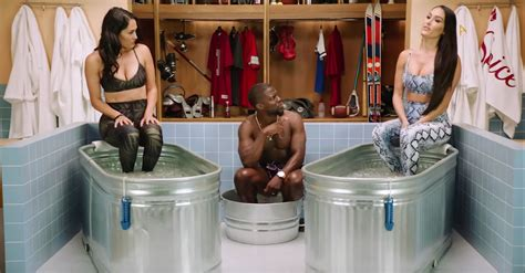 Kevin Hart Gets 'Cold As Balls' With the Bella Twins