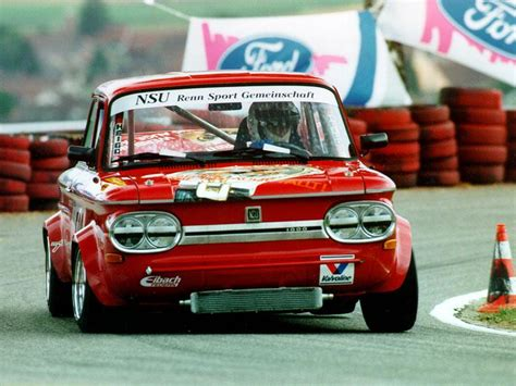 NSU 1000 TTS RACING Charly AEGERTER Suisse | Charly