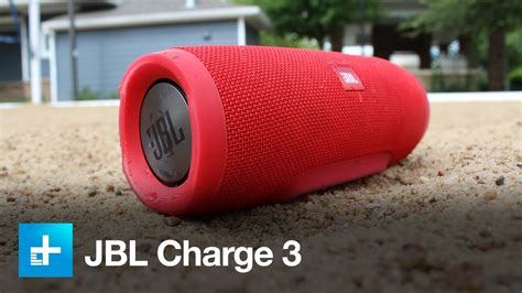 JBL Charge 3 Review - YouTube