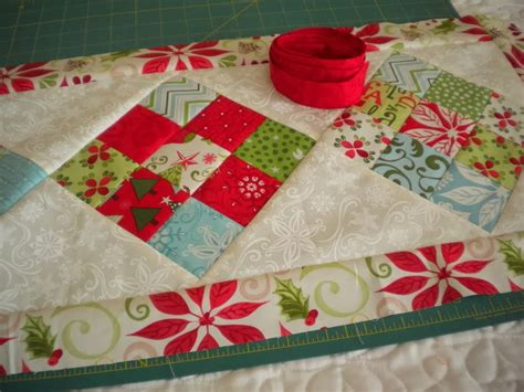 Scrappy 9-Patch Table Runner Tutorial | A Quilting Life