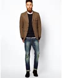 Asos Brand Slim Fit Blazer In Donegal   Where to buy & how