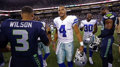 For Dak Prescott and Russell Wilson, comparisons come with